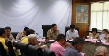 การประชุมคณะกรรมการกองทุนหลักประกันสุขภาพ เทศบาลเมืองปากช่อง ครั้งที่ 2/ 2563