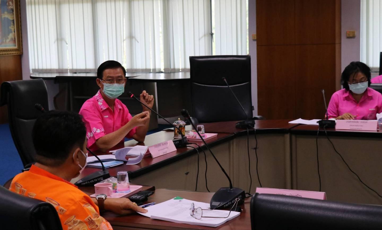 ประชุมคณะกรรมการกองทุนหลักประกันสุขภาพเทศบาลเมืองปากช่อง ครั้งที่ 2/2563