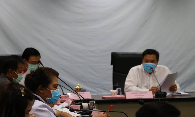 ประชุมคณะกรรมการกองทุนหลักประกันสุขภาพเทศบาลเมืองปากช่อง ครั้งที่ 3/2563