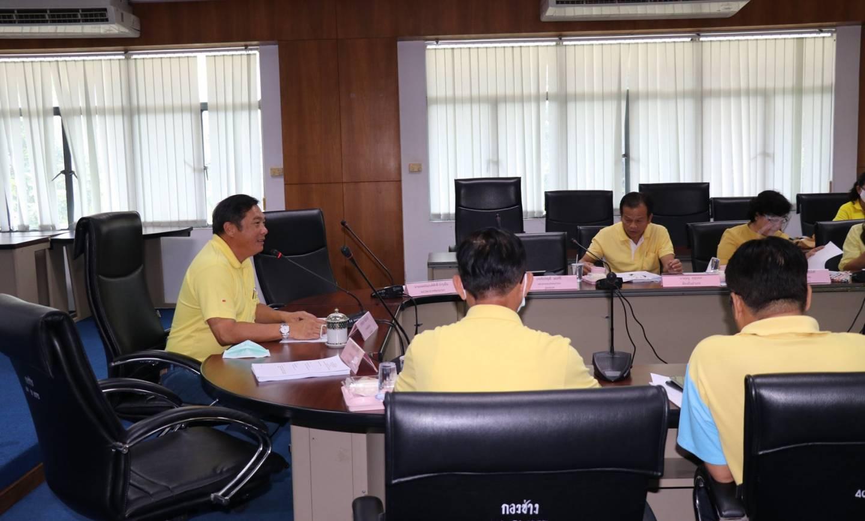 ประชุมคณะกรรมการกองทุนหลักประกันสุขภาพเทศบาลเมืองปากช่อง
