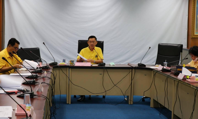 ประชุมคณะอนุกรรมการกองทุนหลักประกันสุขภาพเทศบาลเมืองปากช่อง